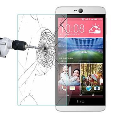 [2 unidades] Protetor de tela HTC Desire 826, HTC Desire 826W, protetor de tela de vidro temperado transparente protetor de tela resistente a arranhões para HTC Desire 826, Desire 826W