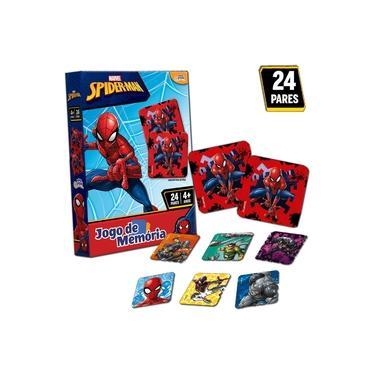 Imagem de Jogo Da Memoria Homem Aranha Infantil Marvel Toyster 8016