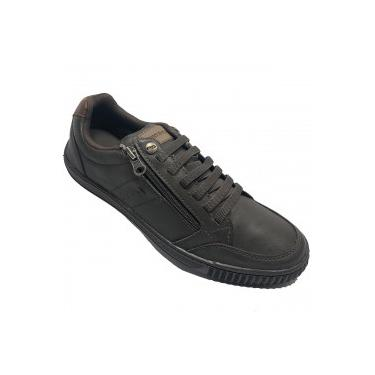 Sapatênis Ped Shoes Casual - Masculino - MARROM Ped Shoes