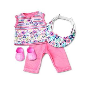 Roupa para Boneca - Kit Esportivo - Baby Alive (Produto Licenciado) – Laço de Fita