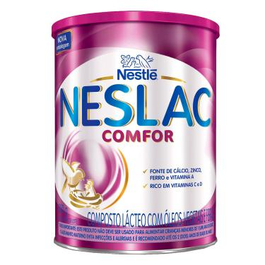 Composto Lácteo Neslac Comfor com 800g 800g