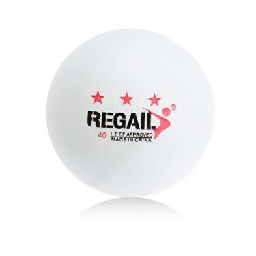 Bolas de pingue-pongue, Andoer Bolas de pingue-pongue de treinamento avançado de tênis de mesa 50 unidades 3 estrelas 40 mm
