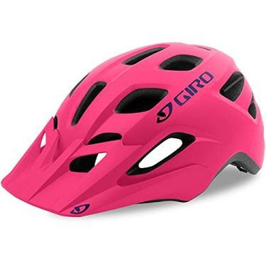Capacete Ciclismo Bike Giro Tremor Pequeno Speed Mtb Viseira (Rosa Pink, Permite Ajustar (50 a 57cm))