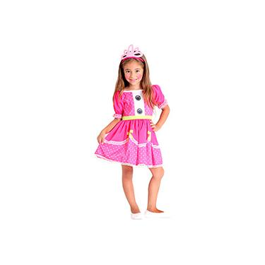 Imagem de Fantasia Infantil Lalaloopsy Jewel Sparkles Pop - Sulamericana