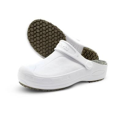 Calçado Works Babuch Softworks Antiderrapante com Palmilha BB90 Branco 6238d72761