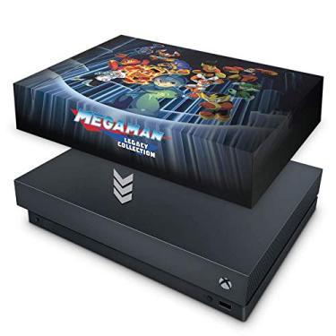 Capa Anti Poeira para Xbox One X - Megaman Legacy Collection