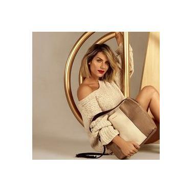 Bolsa Feminina de Mão Grande Dumond Shopper com Alça Tiracolo 485048