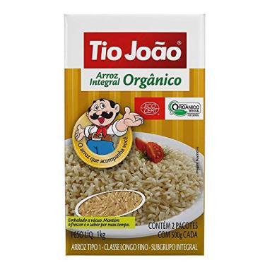 Arroz Tio João Integral Orgânico - 1kg