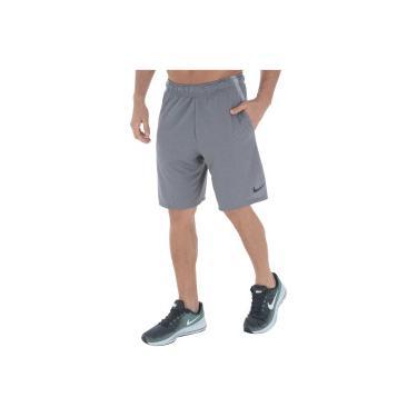 Bermuda Nike Dry 4.0 - Masculina - CINZA Nike 3998d2107bfff