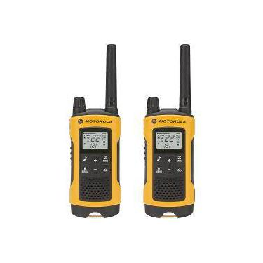 Rádio Comunicador Talkabout 35km Laranja/Preto T400br - Motorola
