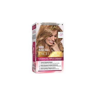Tintura Imédia Excellence Creme L`oréal 7.3 Louro Dourado