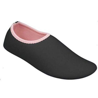 Sapatilha Pampili Bem-Me-Quer Preta Tamanho do calçado:25-26