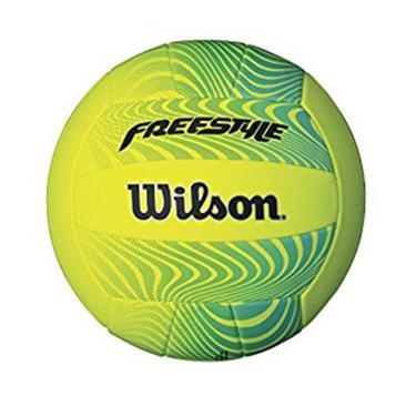 Bola de Vôlei Freestyle Wilson - Amarelo/Verde