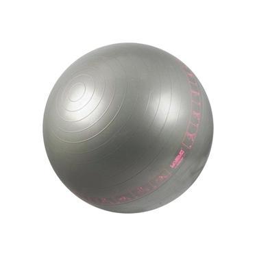 Bola Suíça com Ilustrações de Exercícios para Pilates 65 CM - LIVEUP LS3577-C