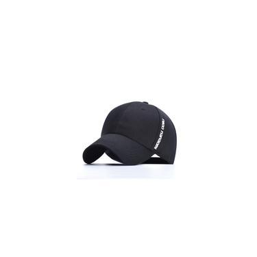Boné de beisebol masculino com bordado ajustável de verão para exterior chapéu viseira