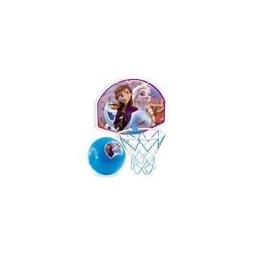 Disney Tabela De Basquete Frozen II Com Bola Lider 696