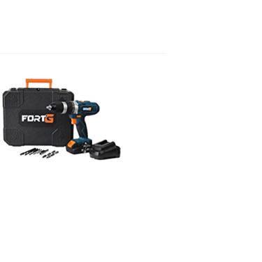 Parafusadeira/Furadeira de Impacto a Bateria 20V Lítio 1/2 Pol. com Maleta e Carregador Rápido - FORTG-FG3000