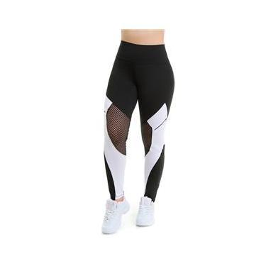 Calça Legging Fitness Feminina Suplex Academia