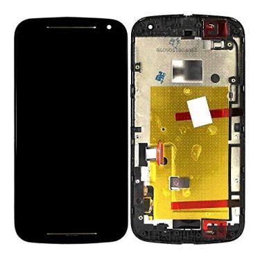 Tela Touch Display LCD Moto G 2 Geracao G2 Xt1068 Xt1069 Dtv Moto G2 Primeira Linha