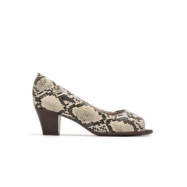 Sapato Peep Toe Feminino 714118 Piccadilly (p98) - Cobra