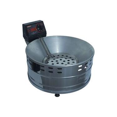 Fritadeira Elétrica Tacho Com Óleo Industrial 3 Litros Pastel Salgado Alumínio 220v Cotherm 2792a