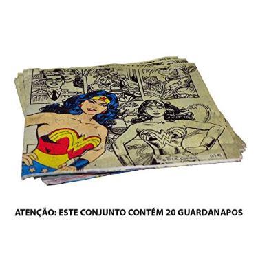 Guardanapos DC Comics Super Heroes - Urban - 16,5x16,5 cm