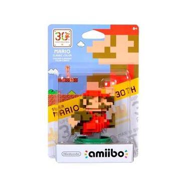 Nintendo Amiibo: Super Mario Classic Color 30th - Wii U e New Nintendo 3DS