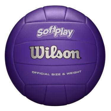 Bola de Vôlei Soft Play (Roxo) - Wilson