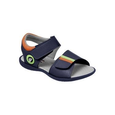 Sandália Ortopasso confort mar/laran