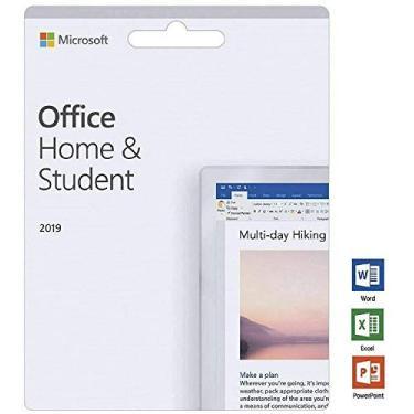 Office Home and Student 2019 para 1 PC | Cartão de chave (não CD) | Licença vitalícia