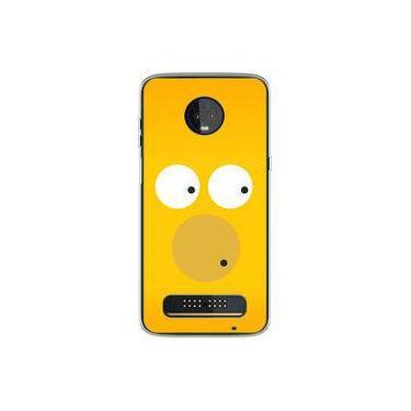 Capa para Moto Z3 Play - Simpsons | Homer