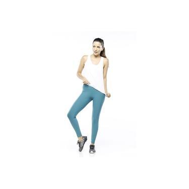Regata Feminina Fitness Branca Classic