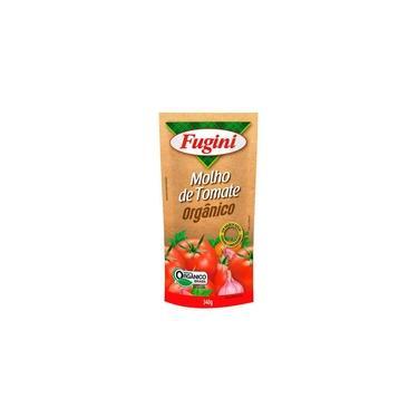 Molho De Tomate Orgânico Sem Gluten Vegano Fugini 340g
