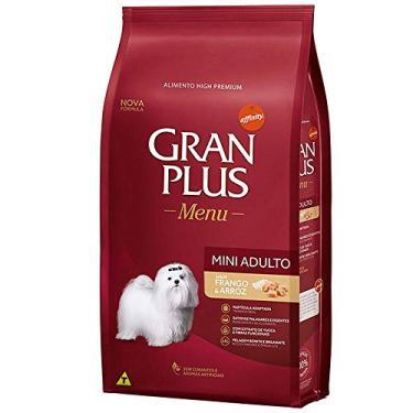 Ração Gran Plus Cães Adultos Raças Mini Frango Arroz 10,1kg