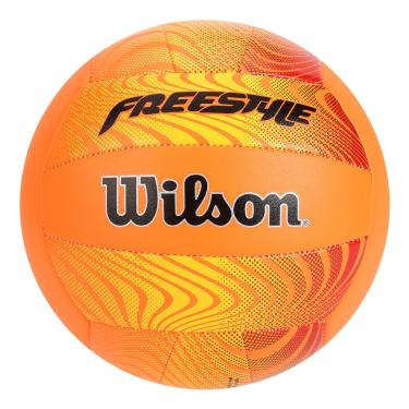 Bola de Vôlei Freestyle Wilson - Laranja/Amarela