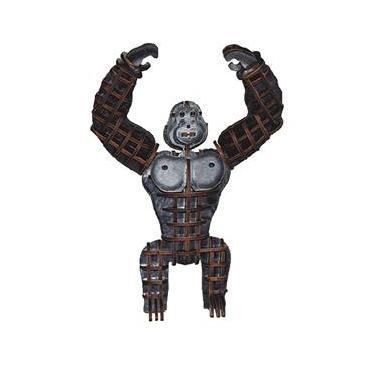 Imagem de Quebra Cabeça Planet Adventure 3D - Gorila (articulado) Madeira - 262 - Brincadeira De Criança