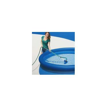 Imagem de Kit de limpeza e Manutenção Piscina Intex com Aspirador e Peneira #28002
