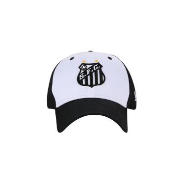 bf5ff05eb7 Boné Aba Curva do Santos New Era 940 HP - Snapback - Adulto - PRETO