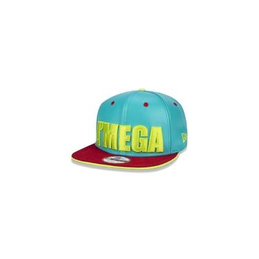 Bone 9fifty Aba Reta Aberto Original Fit Imega Aba Reta Snapback Verde New Era