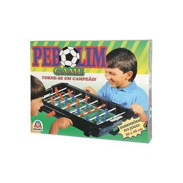 Imagem de Jogo Infantil Pebolim Game - Braskit 400A