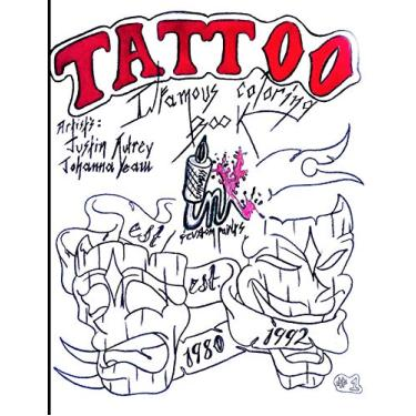 Tattoo: Infamous Coloring Book #1