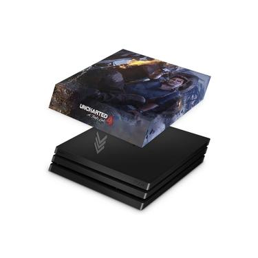 Capa Anti Poeira para PS4 Pro - Uncharted 4