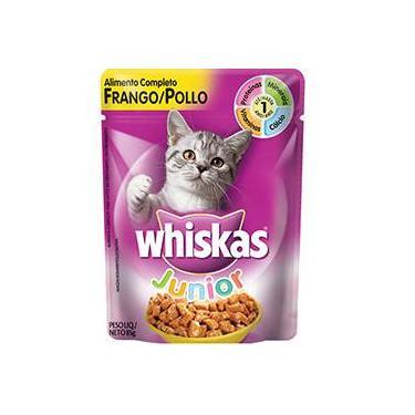 Ração Cat Sachê Junior Frango 85g - Whiskas