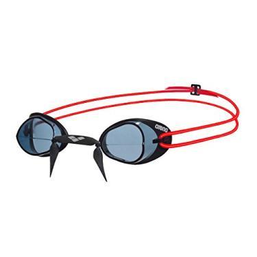 8e87d1656 Óculos de Natação Swedix Arena - preto vermelho