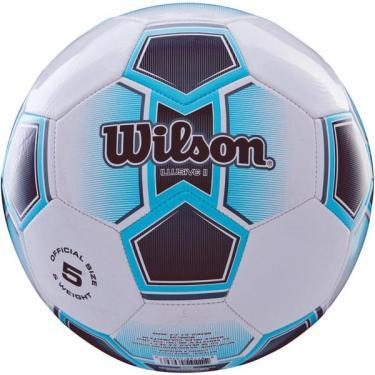 Bola de futebol de campo Illusive Ii N.5 Azul Wilson cd562ed42d638