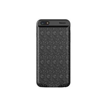 Capa Carregadora Baseus Plaid 7300mah Para Iphone 8 / 7 Plus
