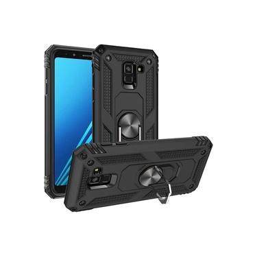 Capa Samsung Galaxy A8 2018 - Skudo Defender 3 Anti Impacto + Anel Segurança