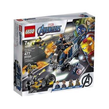 LEGO Avengers - Disney - Marvel - Vingadores Ataque Ao Caminhão - LEGO 76143 Lego
