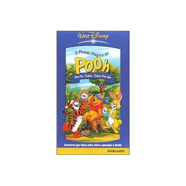 VHS O Mundo Mágico do Pooh