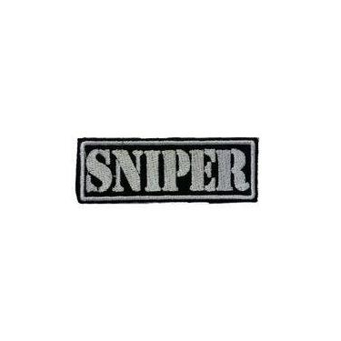 Patch Bordado Termocolante Sniper II